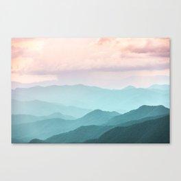 Smoky Mountain National Park Sunset Layers II - Nature Photography Canvas Print