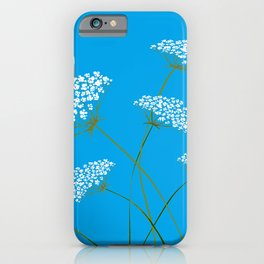 Queen Anne's Lace a Kentucky Wild Flower iPhone Case