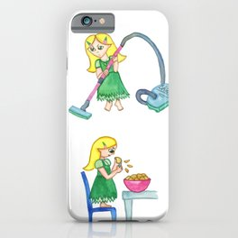 Gretel Working For The Witch iPhone Case