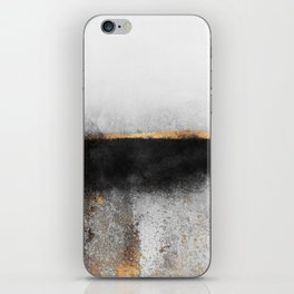 Soot And Gold iPhone Skin