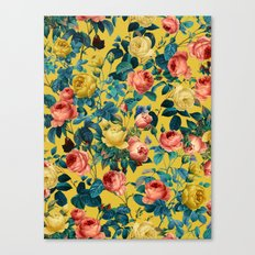 Summer Botanical Garden X Canvas Print