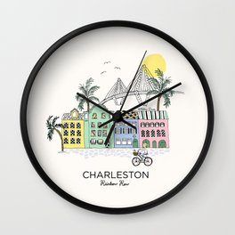 Charleston, S.C. Wall Clock