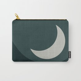 Moonrise Minimalism - Jade Carry-All Pouch