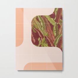 Mid-Century Tropical Way #society6 #tropical Metal Print