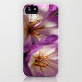 Purple Flower, Hansville, WA iPhone Case
