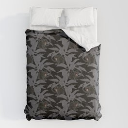Black Panthers on Black. Comforters