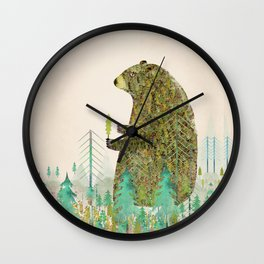 the forest keeper Wall Clock