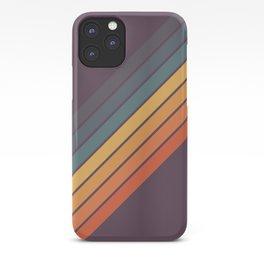 Classic 70s Style Retro Stripes - Dalana iPhone Case