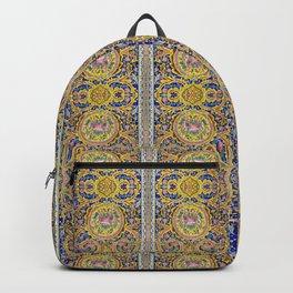 Floral Persian Tile Backpack