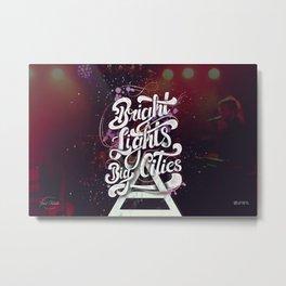 Bright Lights | 30 Seconds To Mars Metal Print
