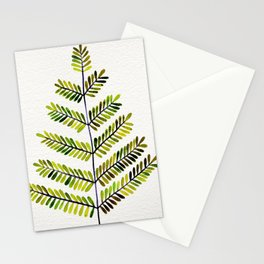 Green Leaflets Stationery Cards