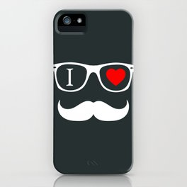 Hipster iPhone Case