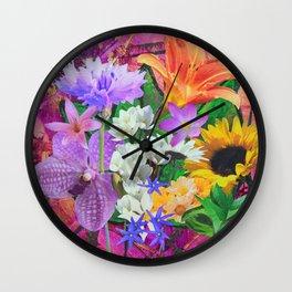 Color Riot Wall Clock