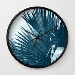 Island Breeze Blue Wall Clock