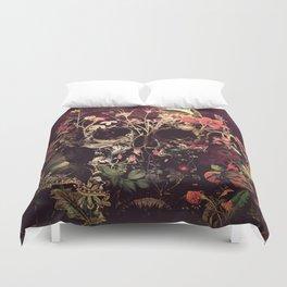 Bloom Skull Bettbezug