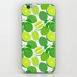 Lime Harvest iPhone Skin