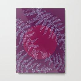 Viola Violento Metal Print