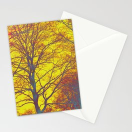 very sunny day Stationery Cards
