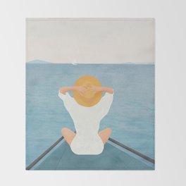 Summer Vacation I Throw Blanket