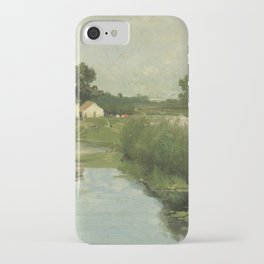 Summer Day By Johan Hendrik Weissenbruch | Reproduction iPhone Case