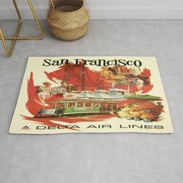 Vintage poster - San Francisco Rug