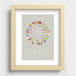 Colours in Culture Recessed Framed Print
