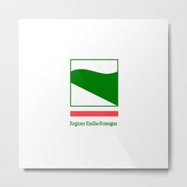 flag of Emilia romagna Metal Print