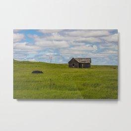 Abandoned Farm, Burleigh County, North Dakota 3 Metal Print