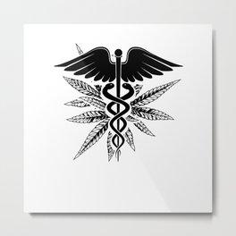 Medical cannabis Metal Print