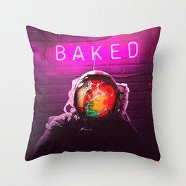 Baked Throw Pillow