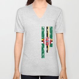 Proud Of Dominica - DMA Unisex V-Neck