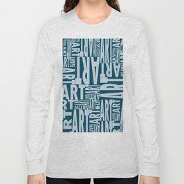 Art - DK Imperial Blue Long Sleeve T-shirt