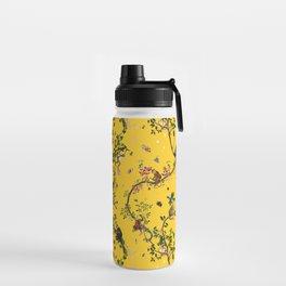 Monkey World Yellow Water Bottle