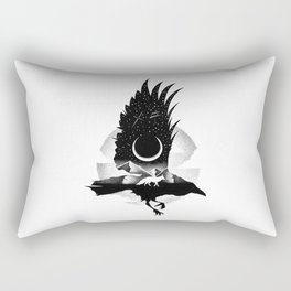 THE RAVEN AND THE FOX Rectangular Pillow