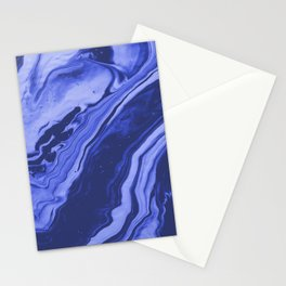 Blueberries and Cream x Galaxy Swirl Stationery Cards