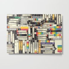 VHS Metal Print