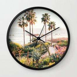 Laguna Beach Wall Clock