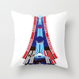 Expedition 41 / International Space Station Throw Pillow
