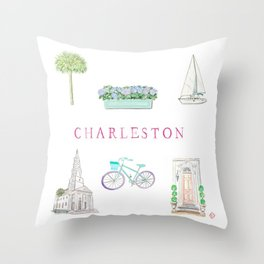 CHARLESTON Throw Pillow