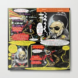 Page #3 of Tex Watt's  (UNCENSORED) SUNDAY COMIX POP-ART Metal Print