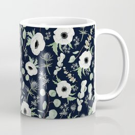 Moody Anemones Coffee Mug