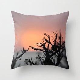 Cape Sounio 1 Throw Pillow