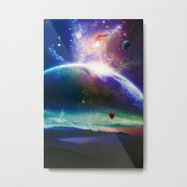 Guided By The Wind Metal Print
