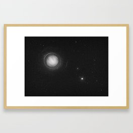 Planets Lost in the Vast of Space: 01 Framed Art Print