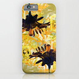 Yellow Gerber Daisies iPhone Case