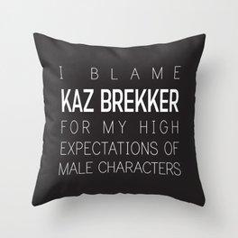 Kaz Brekker Throw Pillow