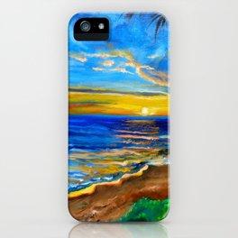 Maui on my Mind iPhone Case