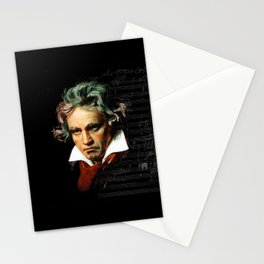 Beethoven - Music Demon Stationery Cards
