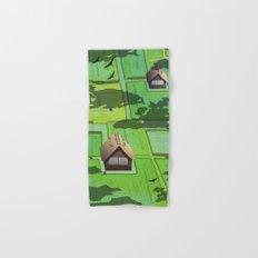 Rice paddy field Hand & Bath Towel