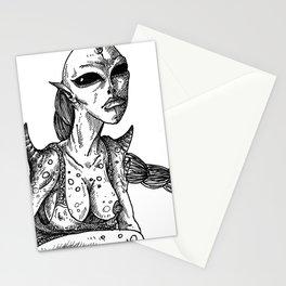 HELL'S ZODIAC - VIRGO Stationery Cards